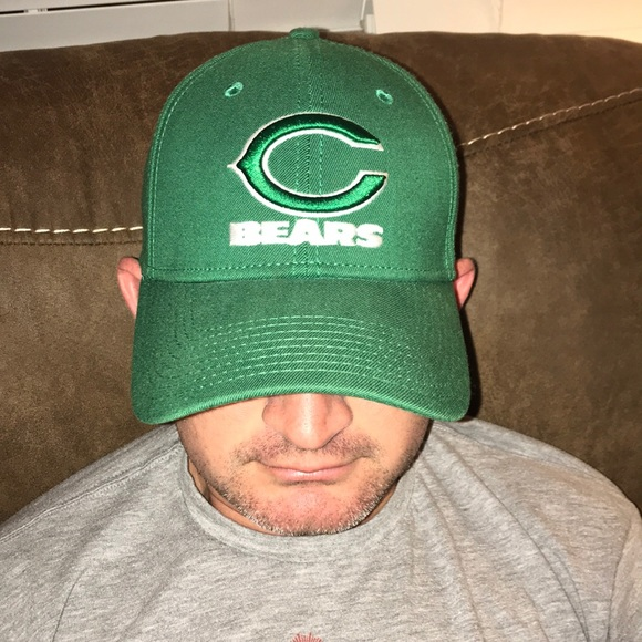 afd48c49 🍀Chicago Bears Irish Hat With Embroidered Logos🍀